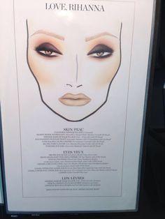 RiRi Mac make up idea