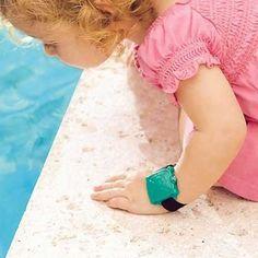 Safety Turtle Swimming Pool Alarm w/ Green Wristband