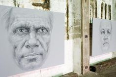 Vernon Ah Kee Work at the 2008 Sydney Biennale Indigenous Art, Vernon, Beautiful Things, Sydney, Artists, Portrait, Amazing, Inspiration, Biblical Inspiration