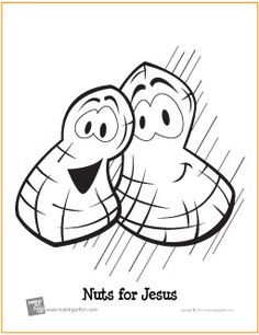 nuts for jesus free printable coloring page makingartfuncom scheduled via trafficwonker