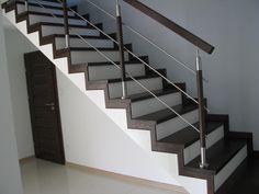 Stairs Tiles Design, Glass Stairs Design, Steel Stairs Design, Staircase Design Modern, Staircase Railing Design, Home Stairs Design, Bedroom Door Design, Interior Stairs, House Main Gates Design
