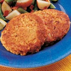 Speedy Salmon Patties Recipe.    To make this fructose free: omit onion and Worcestershire sauce. Make sure your crackers and salmon are fructose free.     These are great fridge snacks and stave off hypoglycemia like a champ.