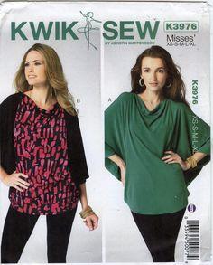 Kwik-Sew 3976 Misses' Top