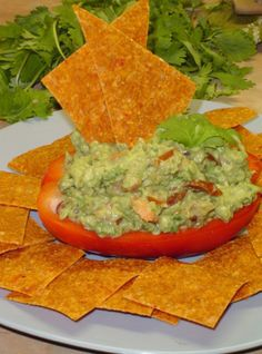 Paleo Tortilla Chips  - http://paleoaholic.com/paleo-recipe/paleo-tortilla-chips/