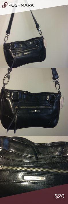 NWT Victoria secret bag .black with mirror attach. NWT black Victoria secret bag .pink inside with attached mirror still in plastic. Victoria's Secret Bags
