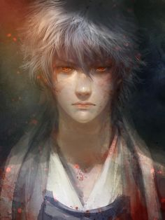 Gintoki aka 'The White Demon' from Gintama. (Which is actually a comedy 99% of the time.)