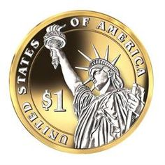 Platinum & Gold-Highlighted Presidential Coins - The Danbury Mint