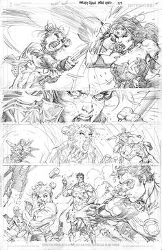 Harley Quinn and the Suicide Squad April 1 Special #1 p.23 by Jim Lee *