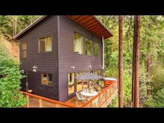 Russian River Cabin | Beautiful Small House Design Ideas - YouTube