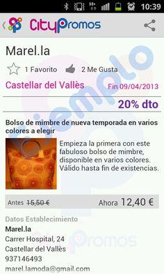 Ejemplo oferta: Comercio de moda y complementos en Castellar del Valles