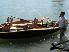 The Woody Bugger is a 17′ low-profile driftboat that I designed and built back in the winter of 2007-2008.