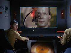 Cap.Kirk asimilado por los Borg....