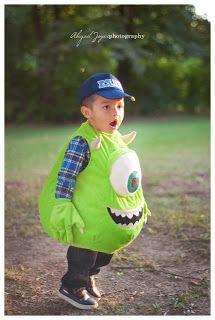 halloween costumes  MONSTERS INC  Abigail Joyce Photography