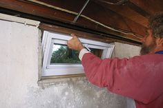 VIDEO: Replacing a Basement Window: Say goodbye to your old, corroded, cast-in-place basement window and hello to a new, more efficient unit | Fine Homebuilding Magazine