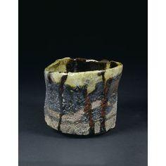 Tea bowl by Raku Kichizaemon, Victoria and Albert Museum UK