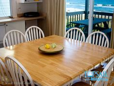 New meaning to dining in or dining out - dining table or picnic table on the deck - ocean views either way!