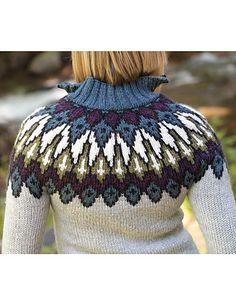 Ravelry: Baldrun Pullover pattern by Kerin Dimeler-Laurence
