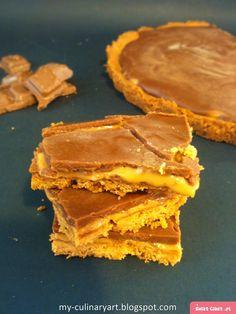 My Culinary Art: butterscotch tart/ Kruche ciasto milionera Butterscotch Tart, Culinary Arts, Peanut Butter, Food, Essen, Meals, Yemek, Eten, Nut Butter
