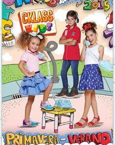 Catalogo Cklass Kids Primavera Verano 2015. Mira ropa y zapatos de moda para niños y niñas.