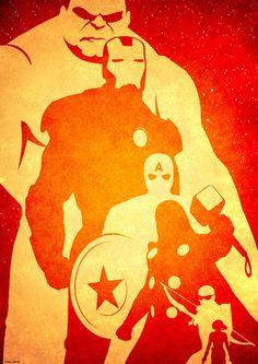 Avengers Pumpkin Stencil Posters: the avengers