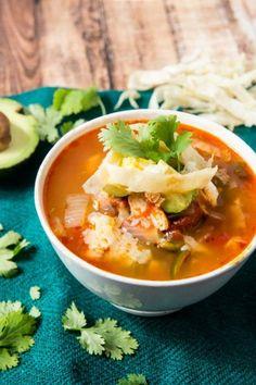 3. Tortilla Soup #greatist http://greatist.com/eat/instant-pot-recipes