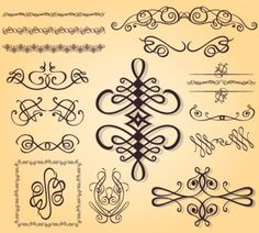 Caligraphy Decorations
