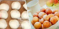Smažené mini-koblížky s vážně fantastickou lehkou chutí! My Recipes, Cooking Recipes, Gem, Muffin, Potatoes, Peach, Sweets, Cookies, Baking