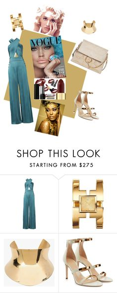 """""""Power of Personality"""" by victoria-rowan ❤ liked on Polyvore featuring Temperley London, Tory Burch, Balmain, Tamara Mellon and Chloé"""