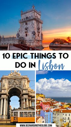 10 epic things to do in Lisbon. All you need to know if you plan to visit Lisbon, Portugal. Things to do in Lisbon | 3-day Lisbon itinerary | 3 days in Lisbon | Lisbon in 3 days | Lisbon mistakes you must avoid | Lisbon travel tips Portugal Vacation, Places In Portugal, Portugal Travel Guide, Europe Travel Guide, Spain And Portugal, Travelling Europe, Travel Guides, Traveling, Algarve