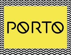 Porto was born to be part of a logo desing but it didn't turn to be what was needed, any way, I thoght it was so gorgeous that i couldn't old it in a file that would probably be lost in time.
