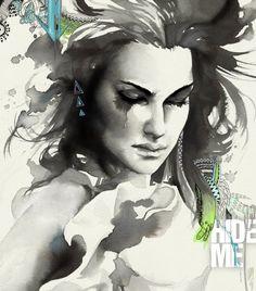Hide me - Retratos | Dibujando.net