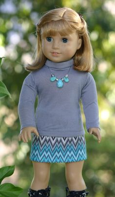 American Girl Doll Clothes Faux Leather by DollClosetHeirlooms