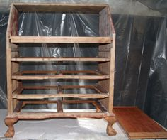 Restoring a 1940's Maddox Reproductions Secretary desk.