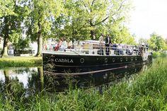 Enjoy a Cruise along Dublin's Grand Canal on a canal boat restaurant