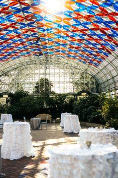 Heirloom Event Co. // Garfield Park Conservatory Wedding