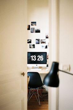 Desk | Minimal Desks - Simple workspaces, interior design