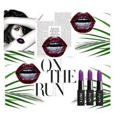 Tropical purple vibes by rawanmakeen on Polyvore featuring polyvore, beauty, NYX and Chanel