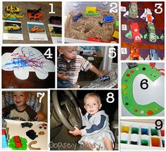 c is for cars activities