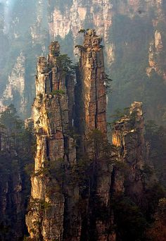 The spirs of Zhang Jia Jie China