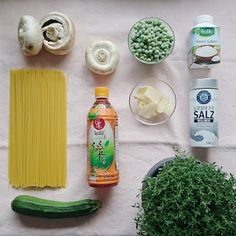 judetta: #inunter20 - One Pot Pasta mit Champignons, Zucchi...
