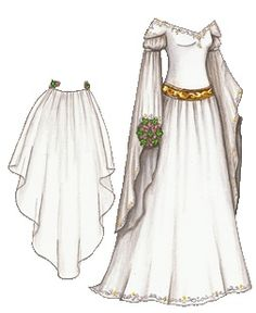Medieval Wedding Gown