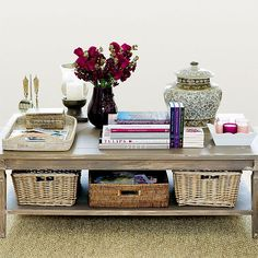 choosing the right size coffee table ...