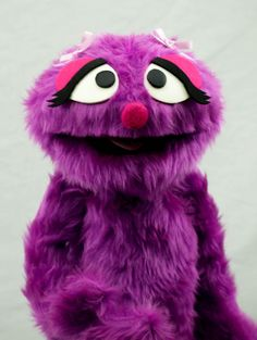 Penelope Monster Hand Puppet / muppet by ThePuppetWorkshop on Etsy, $70.00