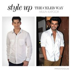 You can now have #ArjunKapoor look #styleupthecelebway, Shop Now at http://bit.ly/SDnpYX