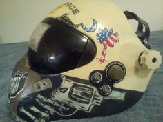 Welding hood, Custome paint job