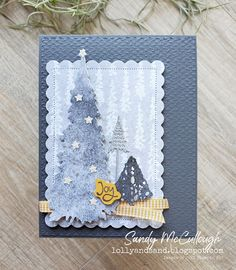 Create Christmas Cards, Christmas Cards To Make, Xmas Cards, Card Making Tutorials, Making Ideas, Make Your Own Card, Fancy Fold Cards, Greeting Cards Handmade, Stampin Up Cards