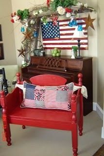 These benches are made out of vintage and antique beds and cribs. They all have custom pillows and ties. Each bench is a one-of-a-kind and y. Repurposed Furniture, Vintage Furniture, Furniture Decor, Refinished Furniture, Repurposed Items, Crib Bench, Old Headboard, Headboard Benches, Headboards
