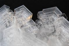 Giant snow crystals by Eduardo Mustad, via Flickr