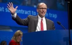 "Labor Secretary Perez vows to grow middle class, ""so help me God"" #aflcio2013"