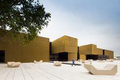 Plataforma de las Artes y la Creatividad en Guimarães, Portugal (Pitágoras Arquitectura) - Ganador en los Premios 2013.